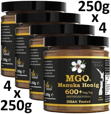 MANUKAHONIG MGO® 600+ 1000gr # MGO 100 250 400 550 800 MANUKA HONIG UMF 15 16 20