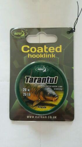 Katran-Tarantul-Coated-Briad-Hooklink-Material-25-lb-20m-Carp-Fishing