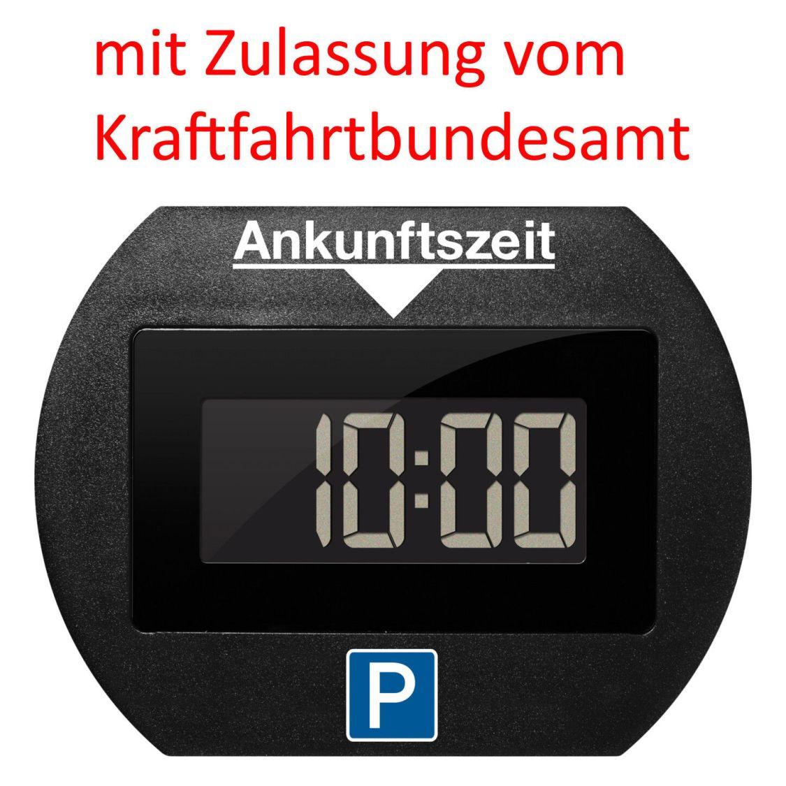 PARK LITE elektronische Parkscheibe - Needit 1412 mit Zulassung - schwarz