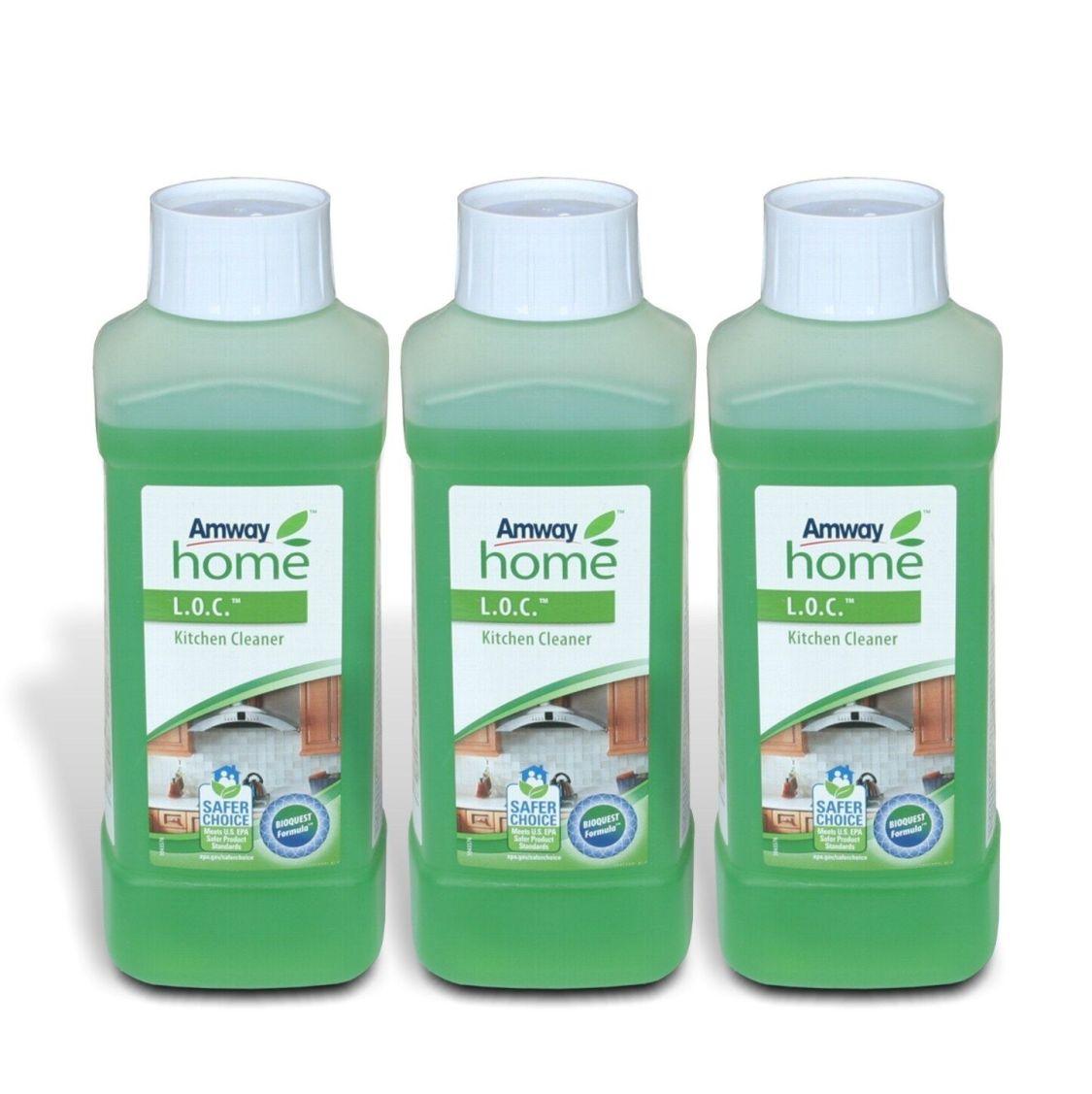 3x AMWAY Home™ - LOC™ - Kitchen Cleaner - Küchenreiniger - Reiniger - 3 x 500ml
