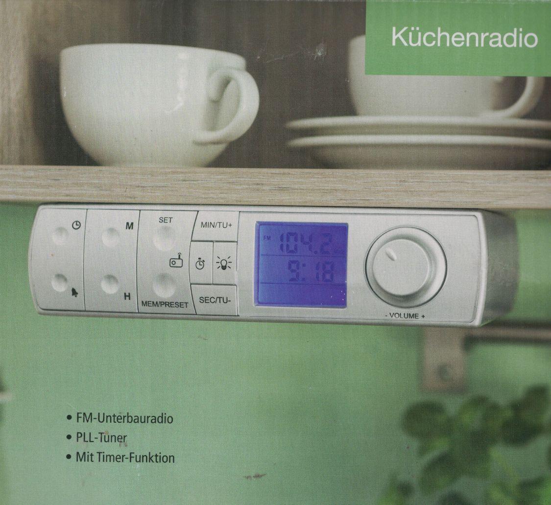 Küchenradio Radio Unterbau-Radio FM Radio