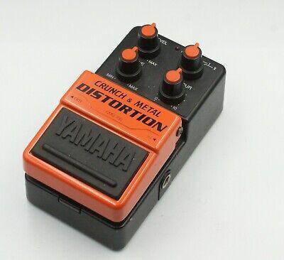 Yamaha CMD-100 Crunch & Metal Disatortion Rare Guitar Effects Pedal F/S Express