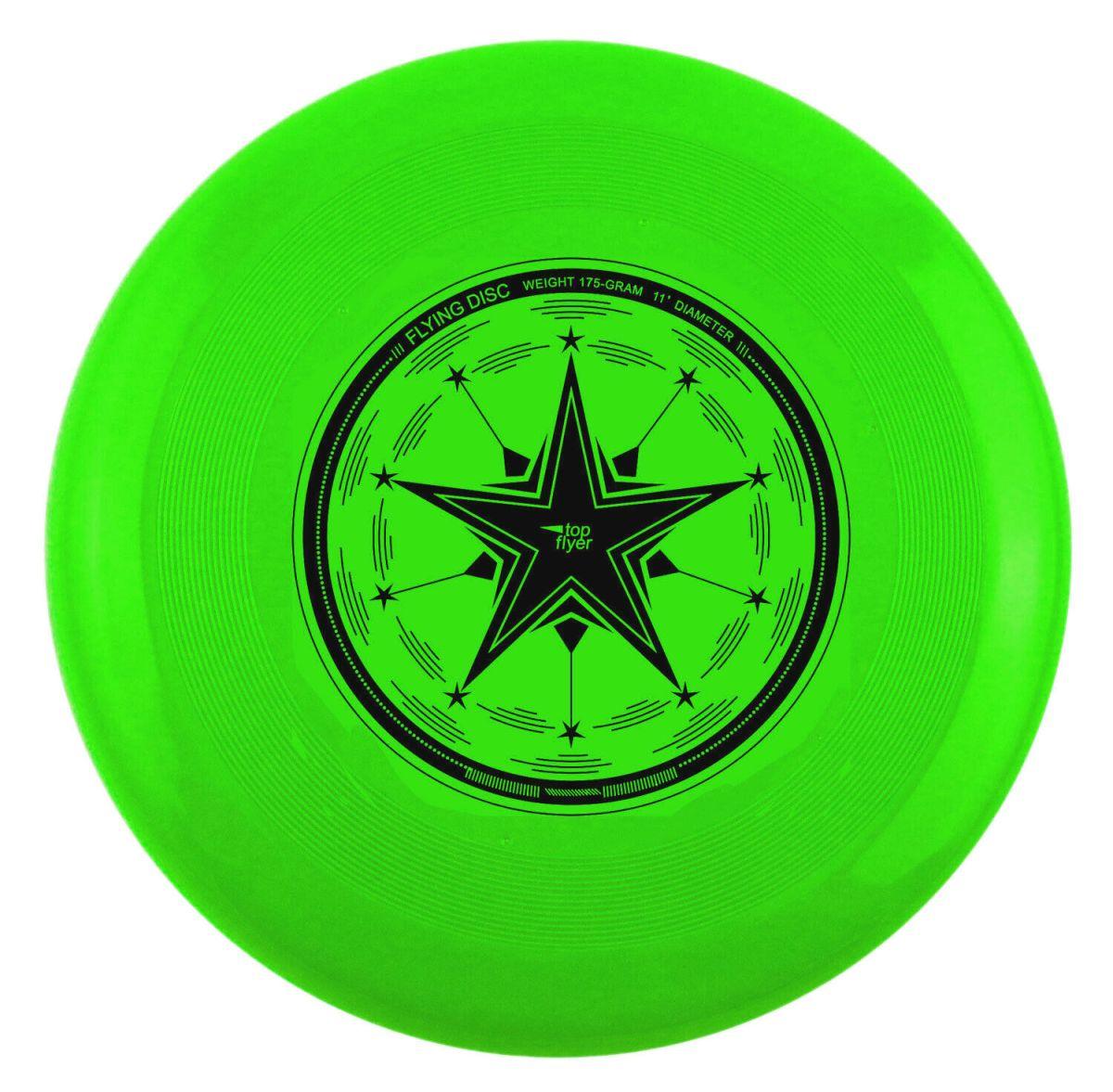 top flyer Profi 175g Ultimate Frisbee 27,5 cm (11 Inch) - Wettkampfscheibe TOP