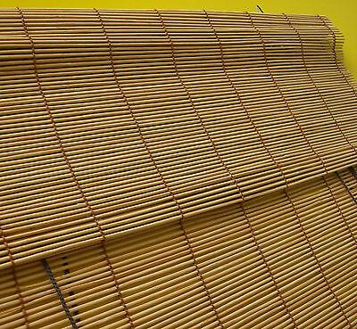 Bambusrollo Vorhang Bambus Rollo Holzrollo Jalousie Tür Fensterrollo Kirschbaum