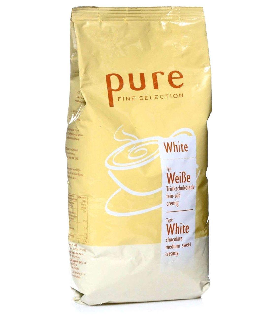 Tchibo Pure Fine Selection Kakao white 1Kg Weiße-Trinkschokolade