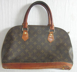 Old Vintage Louis Vuitton LV Style Hand Bag   eBay