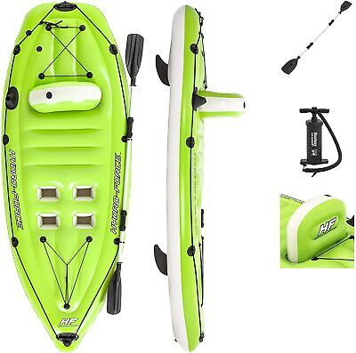Bestway Hydro Force Koracle Inflatable Kayak Boat Set with Oar Paddle Pump NEW!