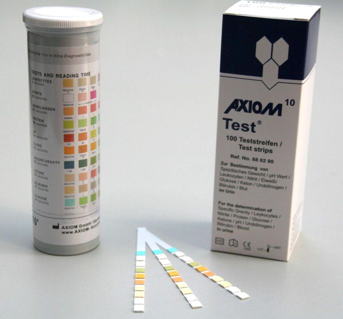 Urinteststreifen Uric Schnelltest 10er Test 100 Stck. / 200 Stck. / 500 Stck.
