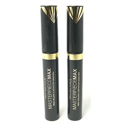 MaX Factor Masterpiece MaX 2 x 7,2 ml Mascara Black Set