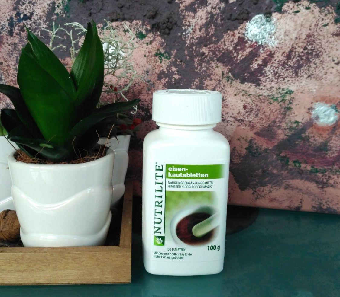 Eisen Kautabletten 100 Tabletten NUTRILITE™ AMWAY™ Eisentabletten