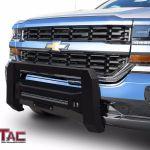 Mesh Modular Bull Bar For 2007 2018 Chevy Silverado Gmc Sierra 1500 Grille Guard Ebay