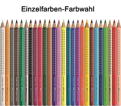 Faber Castell Jumbo Grip Einzelfarbe Farbwahl Buntstift AUSWAHL
