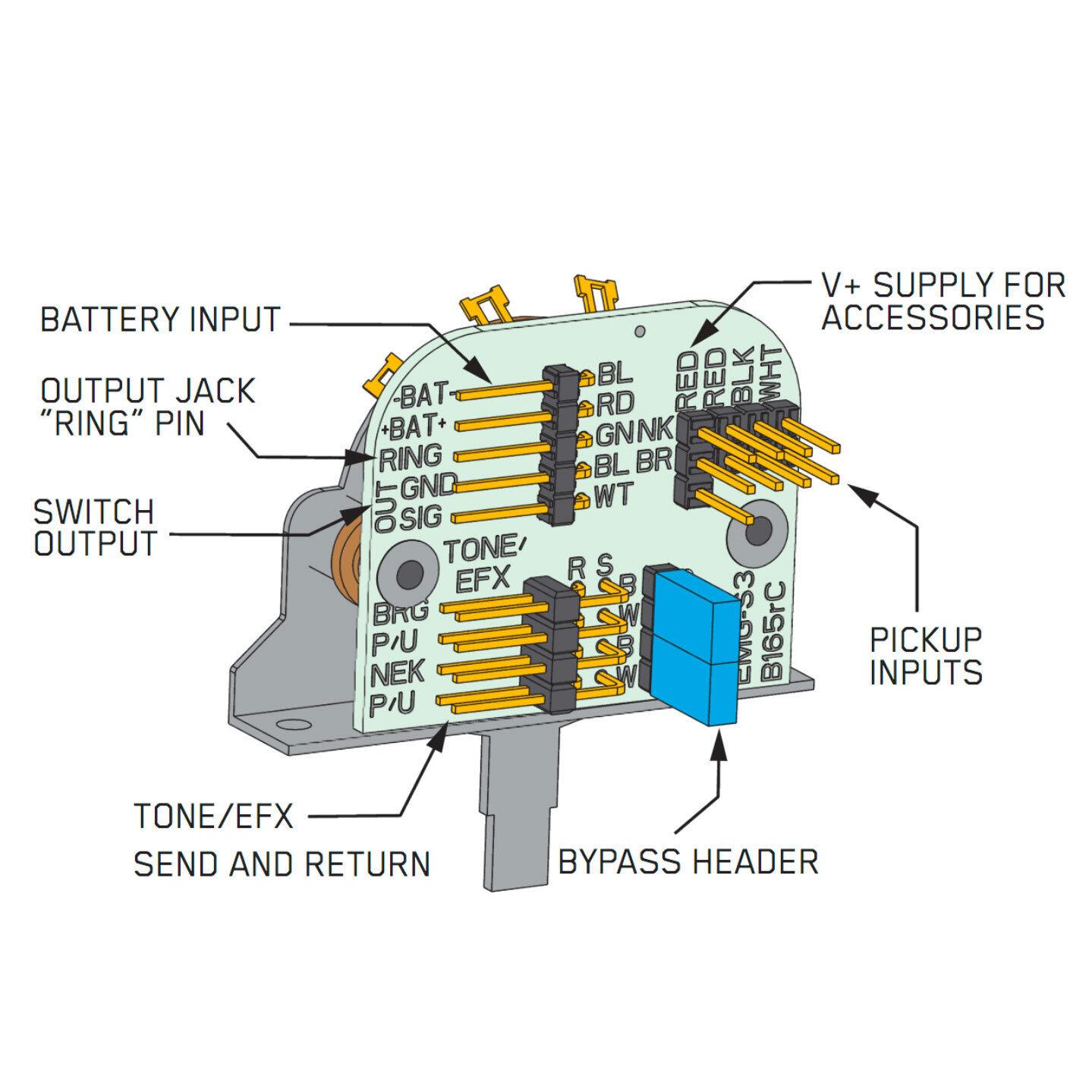 Emg Jazz B Wiring Diagram Emg Wiring Diagram 81 85 ... Jazz B Special Wiring Diagram on