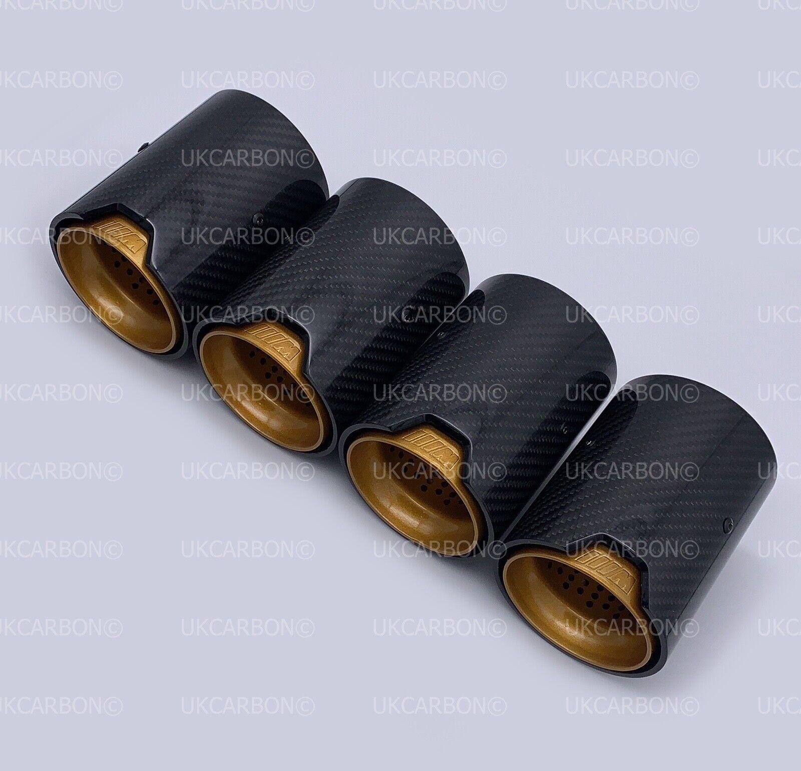 ukcarbon gold carbon fibre exhaust tips