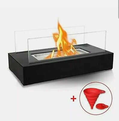 BRIAN & DANY Tabletop Portable Bio Ethanol Fireplace, Fire Pit, Patio Heater