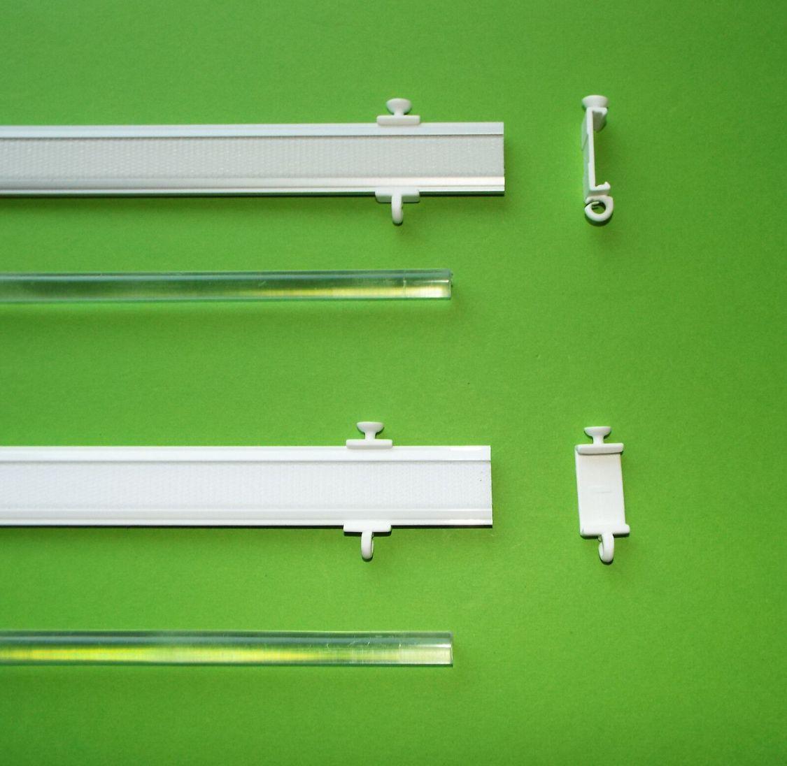 Profi Paneelwagen Aluminium silber weiß für Schiebegardine fast überall passend