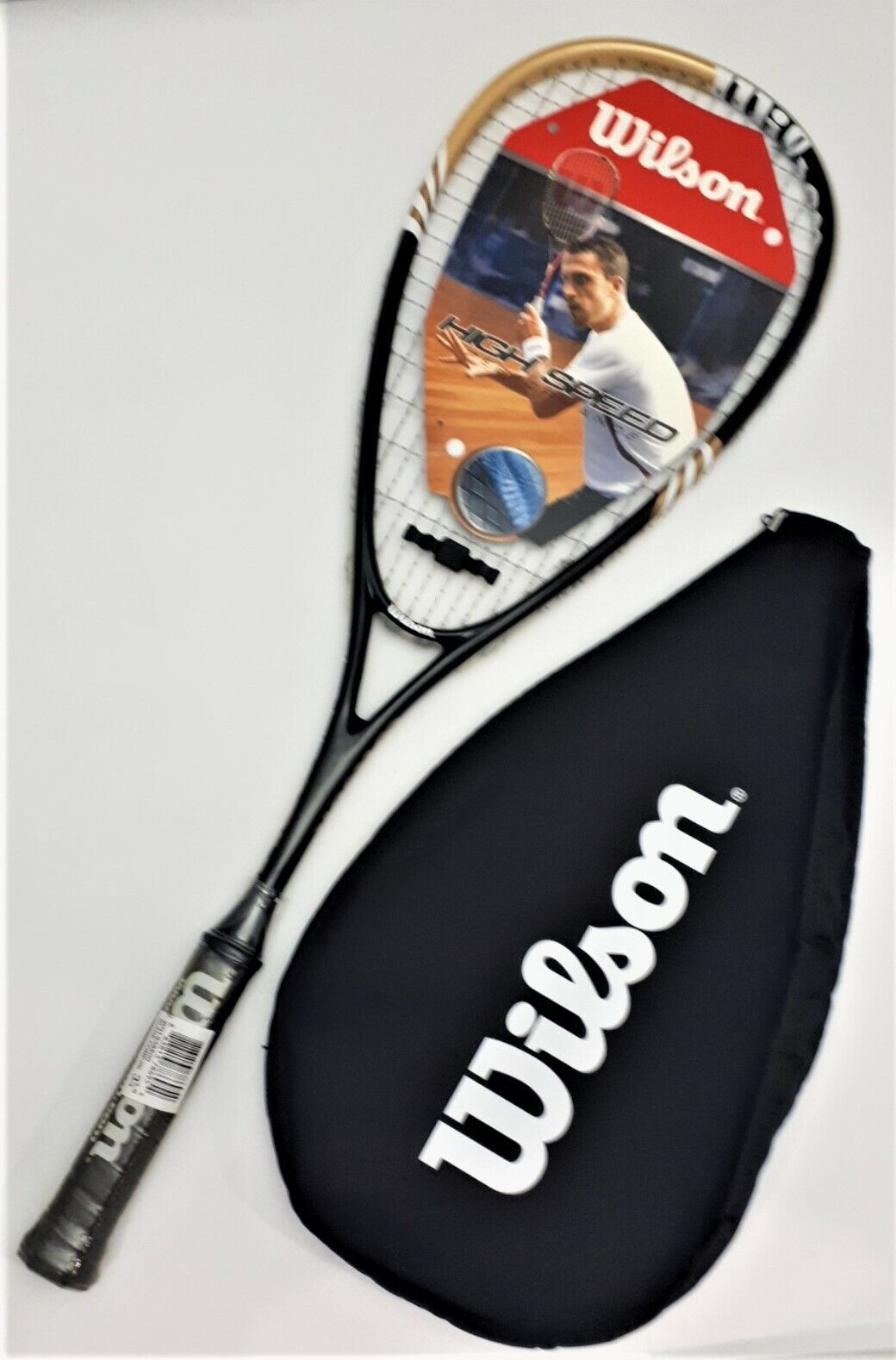Wilson Blade Comp Squash Schläger High Speed Performance Power Squashracket