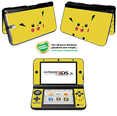 Pokémon Pikachu Vinyl Skin Aufkleber für Nintendo 3DS XL