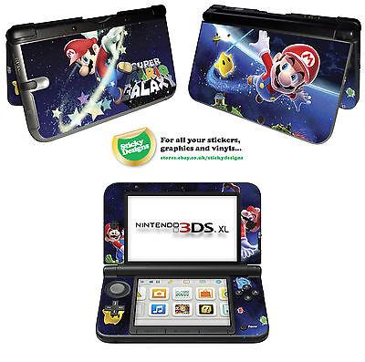 Super Mario Vinyl Skin Aufkleber für Nintendo 3DS XL