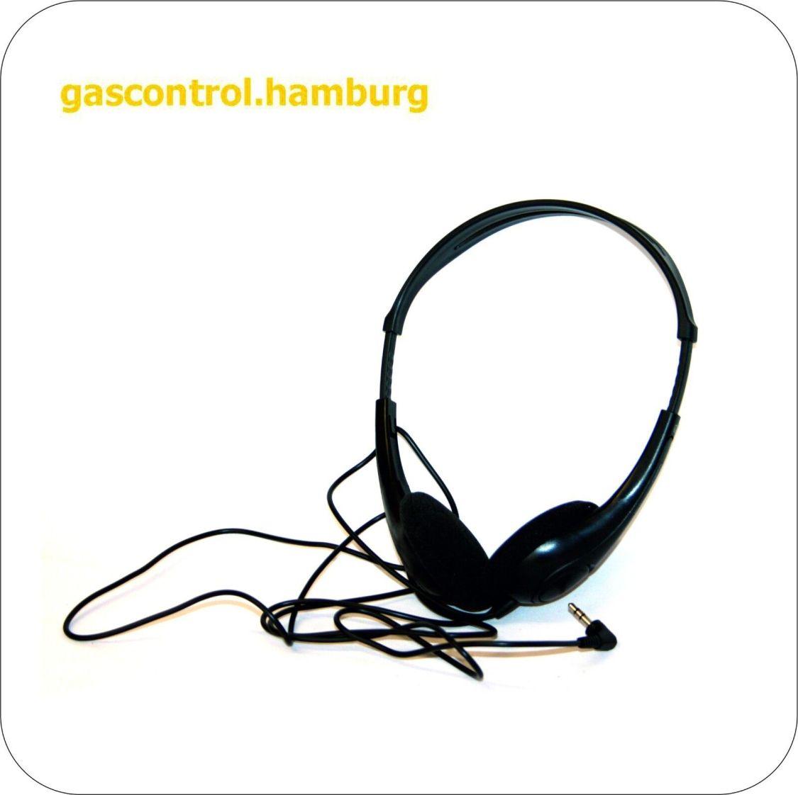Kopfhörer Ultraleicht 3,5mm Klinkestecker schwarz komfortabel guter Klang