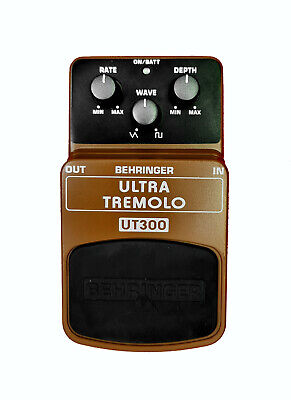 Behringer UT300 Ultra Tremolo Tremelo Guitar Effect Pedal