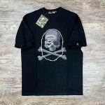 A Bathing Ape BAPE vs Mastermind Black T-shirt