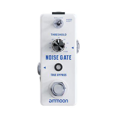 Portable ammoon NOISE GATE Guitar Effect Pedal True Bypass Full Metal Shell D1I1
