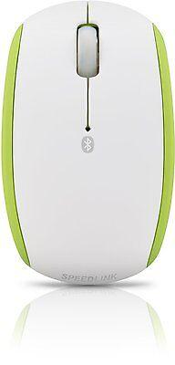 SPEEDLINK FIORI Mouse - Bluetooth Maus weiß-grün, schnurlos, Funk USB E7-809732