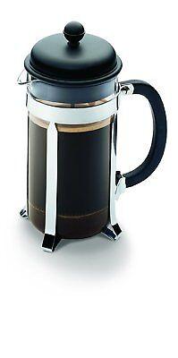 Melior French Press aus dem Haus bodum Kaffeebereiter 1,0l  schwarz