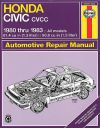 Repair Manual Haynes 42021 fits 80-83 Honda Civic
