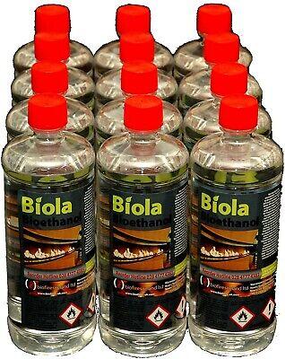 2 Litres of Biola Bioethanol Fuel Bio Ethanol 2L
