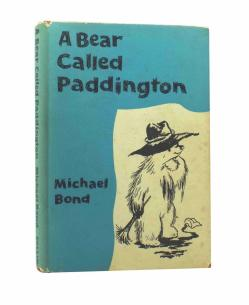 Michael Bond - A BEAR CALLED PADDINGTON - First UK Edition 1958 - RARE CHILDRENS
