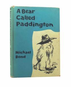 Michael Bond - A BEAR CALLED PADDINGTON - First UK Edition 1958 - RARE CHILDRENS