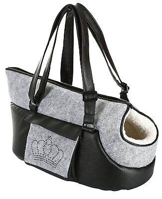 Tragetasche Chiara für Hunde Katzen Transporttasche Hundetragetasche mit Strass