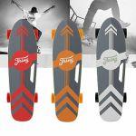 Devo Electric Skateboard Power Motor Cruiser Maple Long Board 12MPH w/ Remote