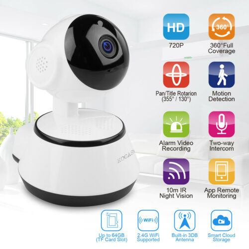 1080P HD Wireless IP Security Camera Indoor CCTV Home Smart Wifi Baby Monitor 1