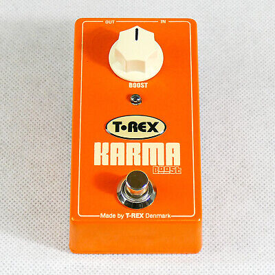 T-Rex Karma Boost Overdrive Effects Pedal