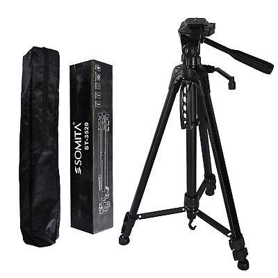 141cm Kamerastativ mit Kugelkopf Universal Fotostativ max Belastbarkeit bis 5KG★