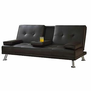 Double Sofa Bed Metal Action