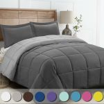 Linenspa All Season Reversible Down Alternative Quilted Oversized King Comforter For Sale Online Ebay