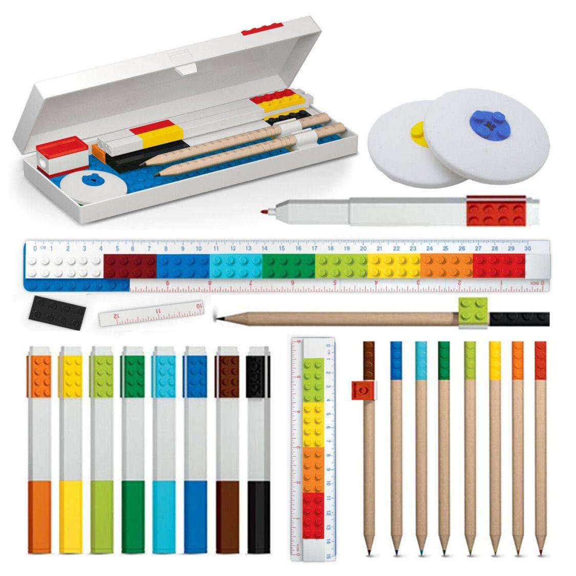 Schule Büro Kugelschreiber Stift Schreibwaren Schulbedarf Kinder Geschenk LEGO