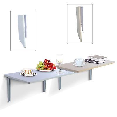 HOMCOM Wandklapptisch Wandtisch Klapptisch Esstisch Küchentisch Schreibtisch Neu