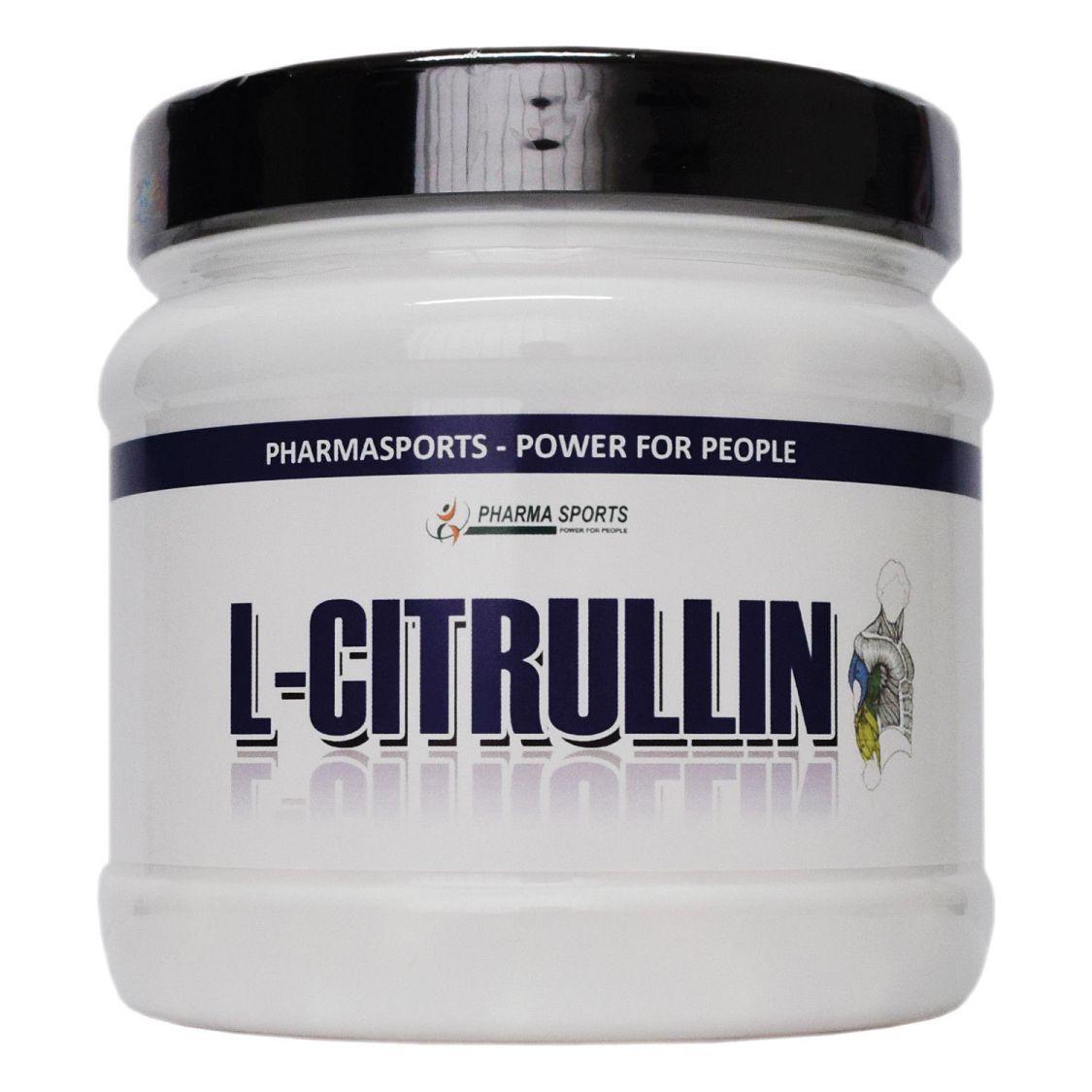 Pharmasports L-Citrullin Kapseln 240 Stück 1000 mg p. Kapsel 4000 mg pro Portion