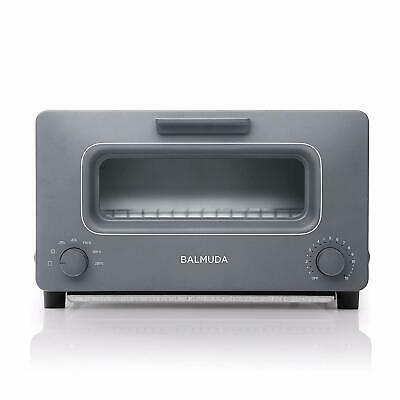 BALMUDA The Toaster Steam Toaster Oven K01E-GW Gray AC100V EMS w/ Tracking NEW