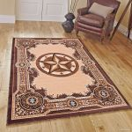 Details About Rugs Area Rugs 8x10 Area Rug Carpet Large Rugs 5x7 Texas Star Western Floor Rugs