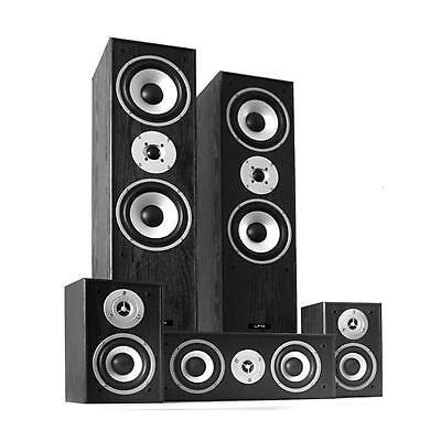 5.1 Heimkino System HiFi Lautsprecher Set Soundsystem Surround Boxen 1150W