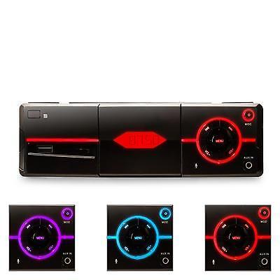 MULTIMEDIA UKW AUTORADIO BLUETOOTH iOS APP STEUERUNG SD/MMC USB AUX 4 x 25W RMS