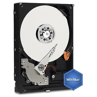 Western Digital 4 TB Festplatte 4000 GB interne 3,5 Zoll SATA 3 WD40EZRZ WD Blue