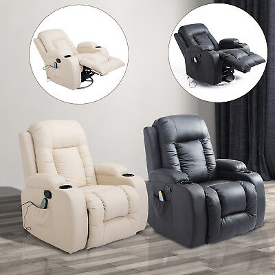 Massagesessel Fernsehsessel mit Wärmefunktion Relaxsessel inkl. Fernbedienung