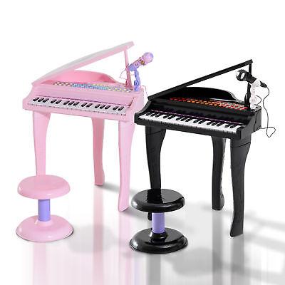 Kinder Klavier Piano Keyboard Musikinstrument MP3 USB 37 Tasten mit Hocker
